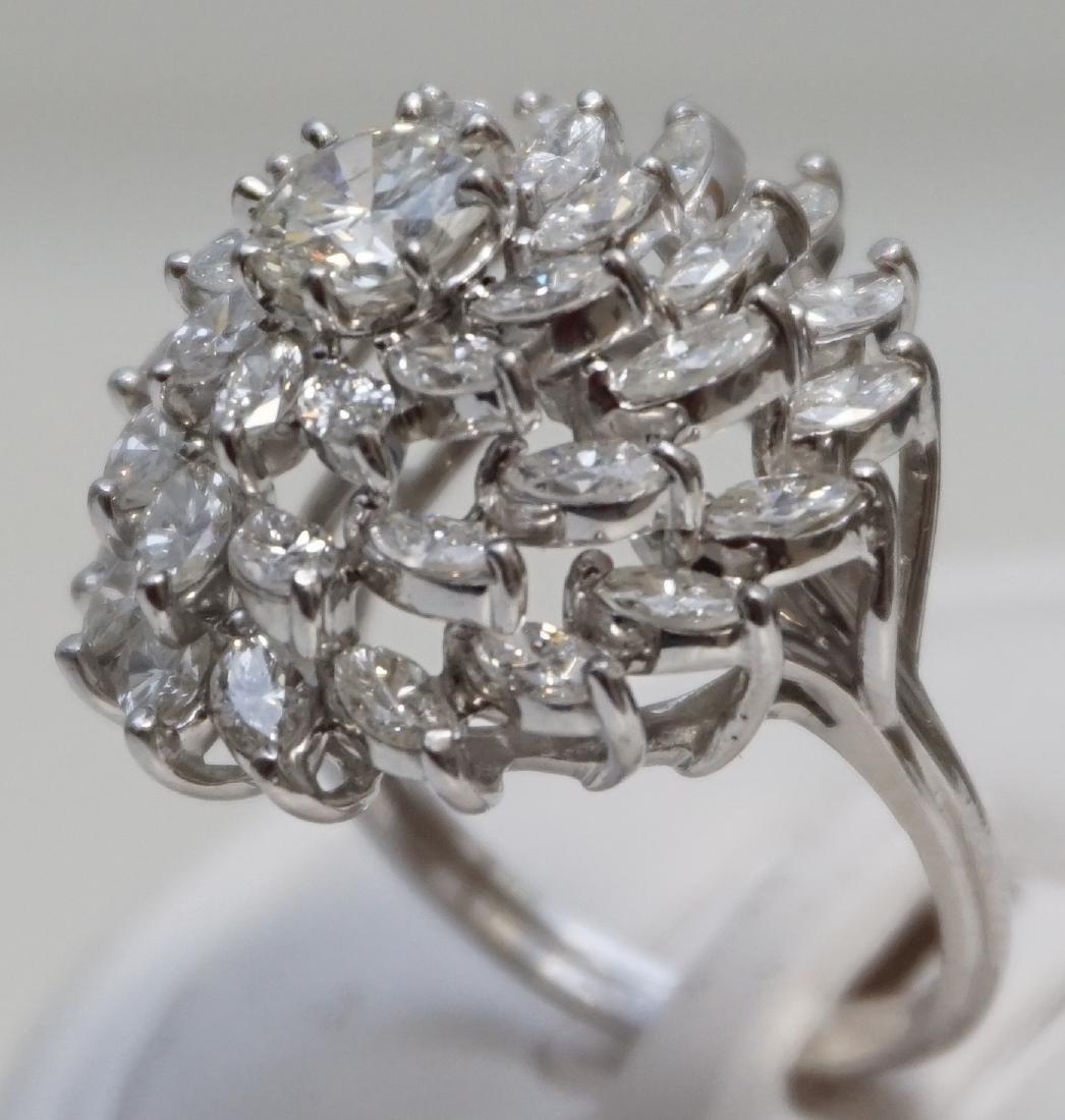 LARGE DIAMOND RING 6.95CTS - 3