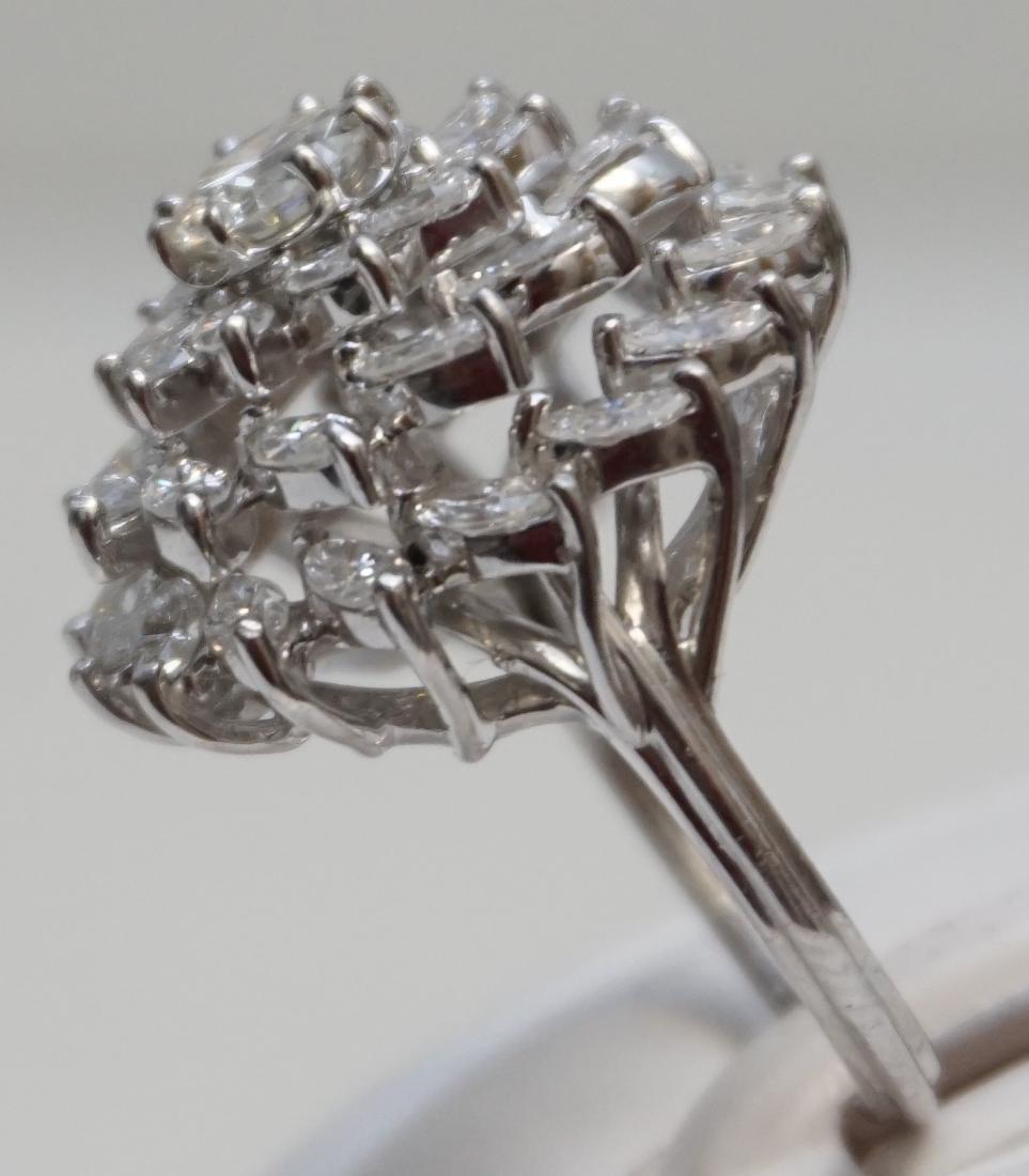 LARGE DIAMOND RING 6.95CTS - 4