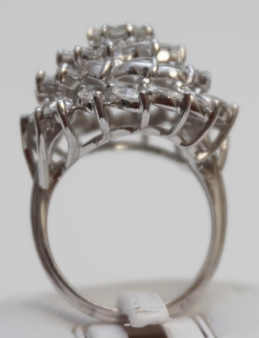 LARGE DIAMOND RING 6.95CTS - 5