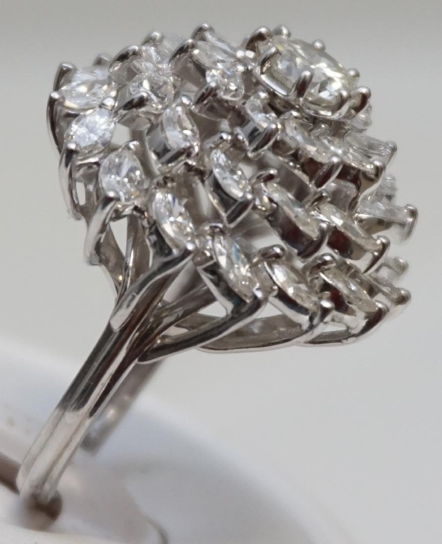 LARGE DIAMOND RING 6.95CTS - 6