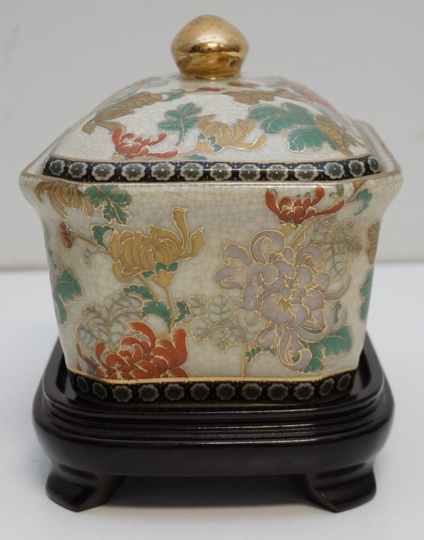 CHINESE EXPORT PORCELAIN COVERED TUREEN - 3