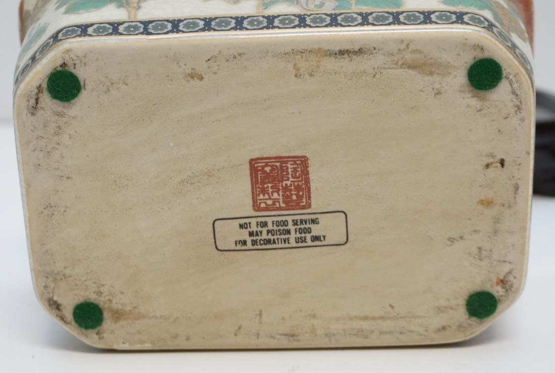 CHINESE EXPORT PORCELAIN COVERED TUREEN - 7