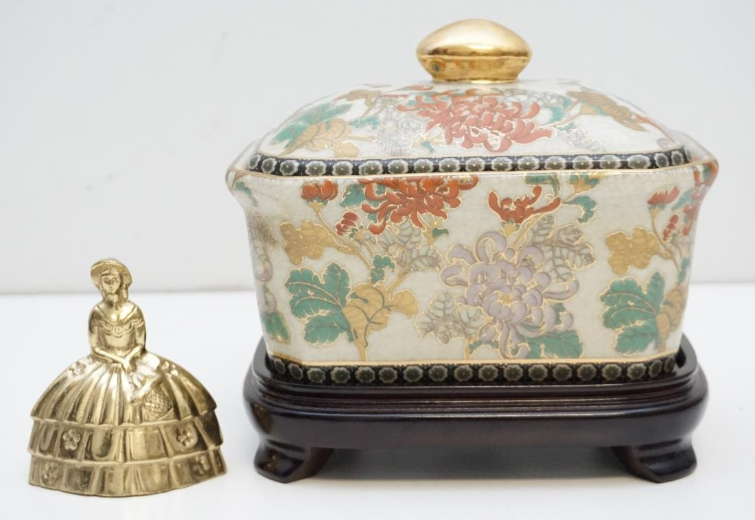 CHINESE EXPORT PORCELAIN COVERED TUREEN - 8
