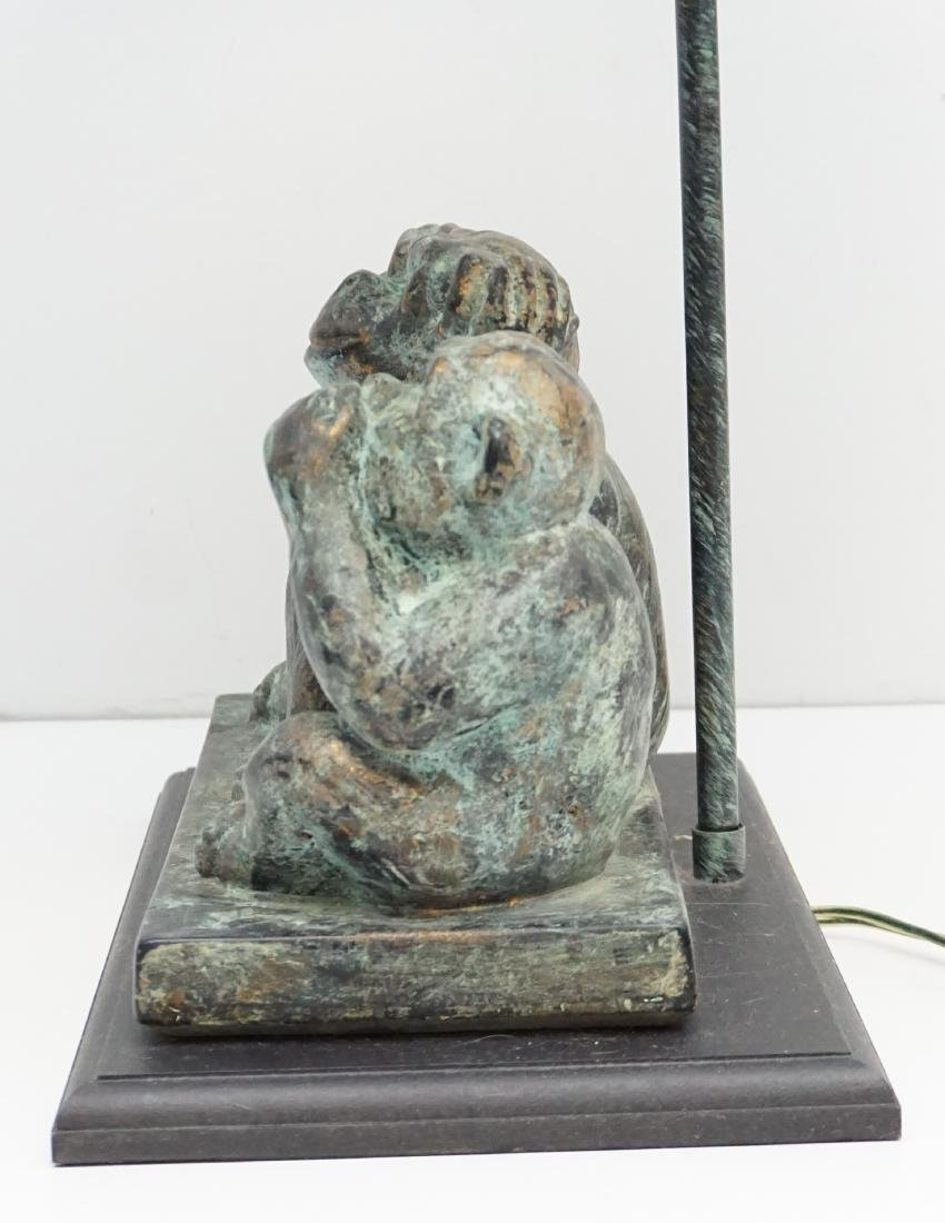 THREE WISE MONKEY TABLE LAMP - 7