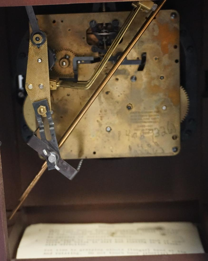 SETH THOMAS LEGACY MANTLE CLOCK - 6