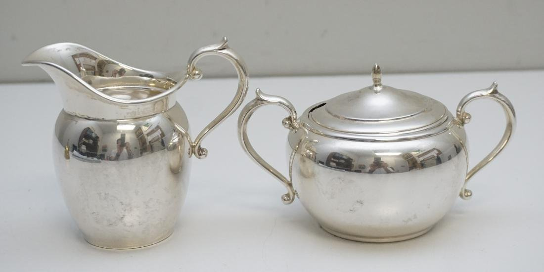GORHAM STERLING CREAM & SUGAR PURITAN - 2