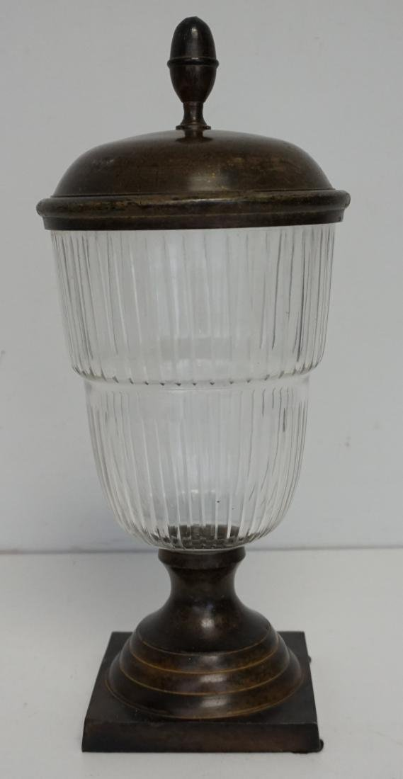 APOTHECARY GLASS JAR WITH LID