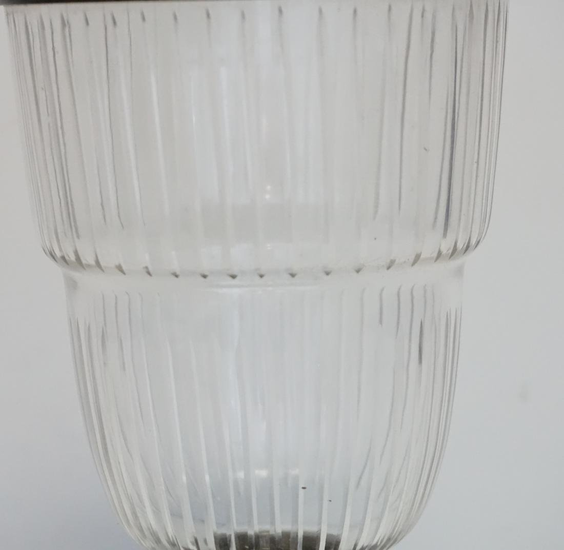 APOTHECARY GLASS JAR WITH LID - 2