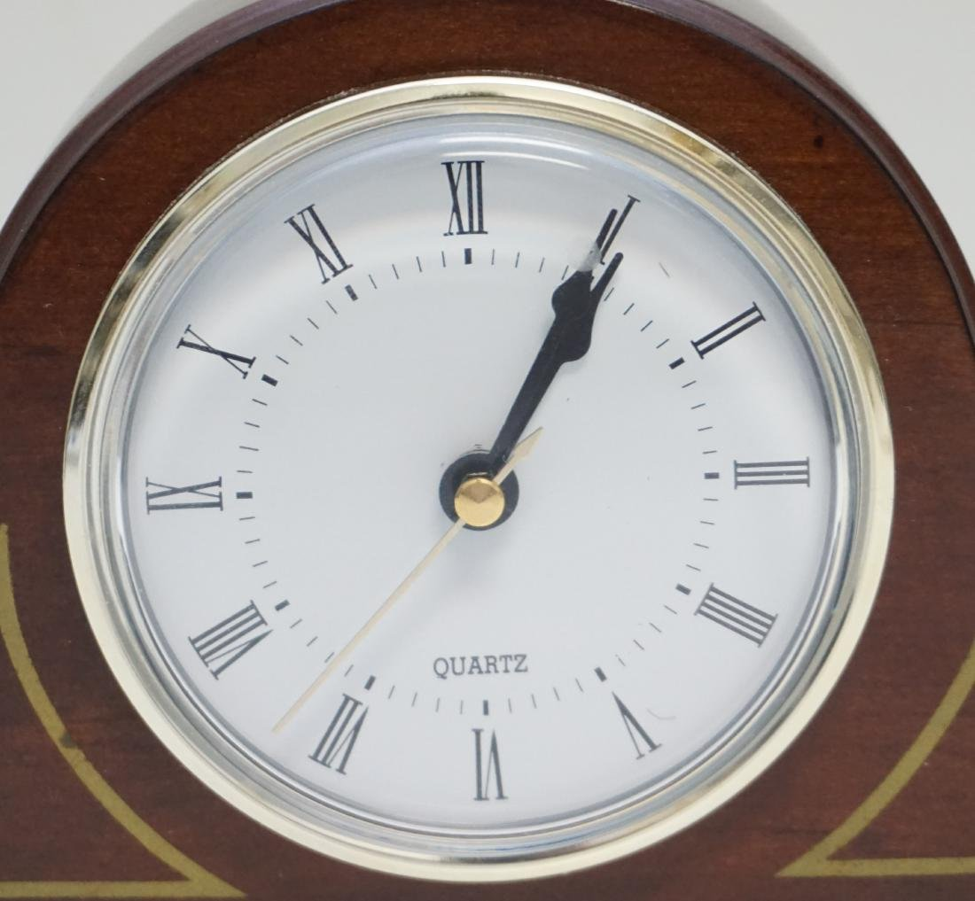 BOMBAY CO SMALL MANTLE CLOCK - 2