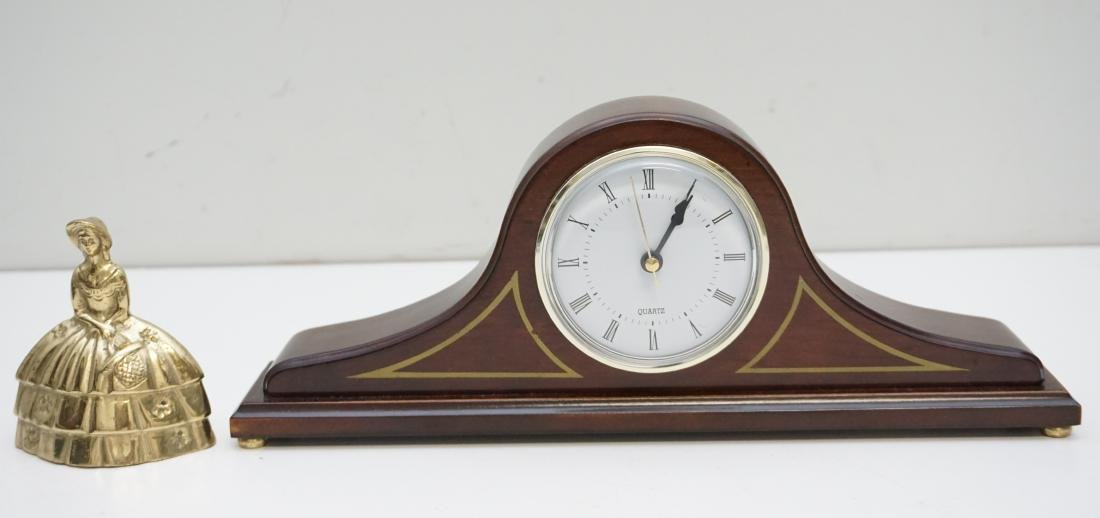 BOMBAY CO SMALL MANTLE CLOCK - 6