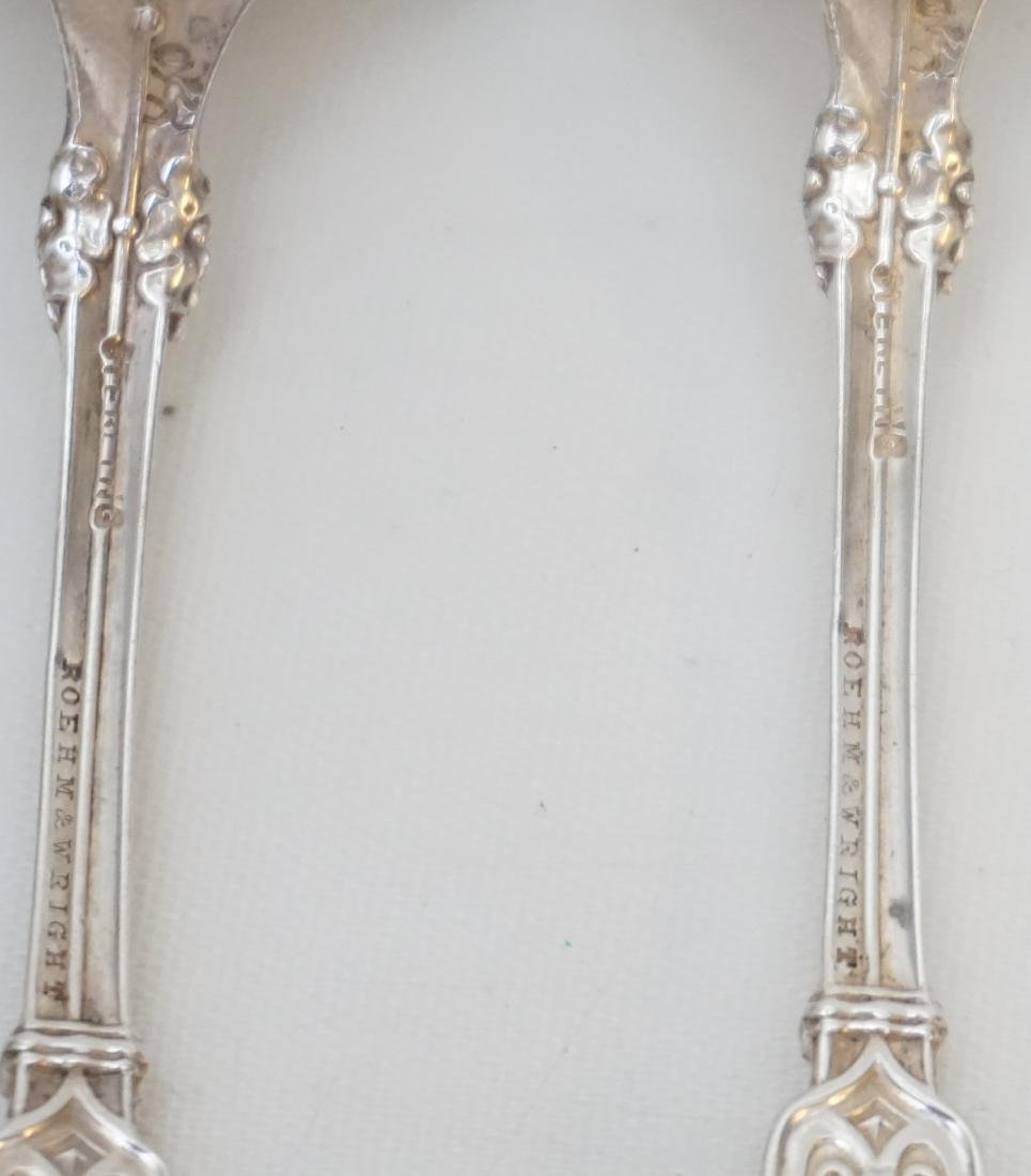 8 WHITING STERLING ALHAMBRA SPOONS - 7