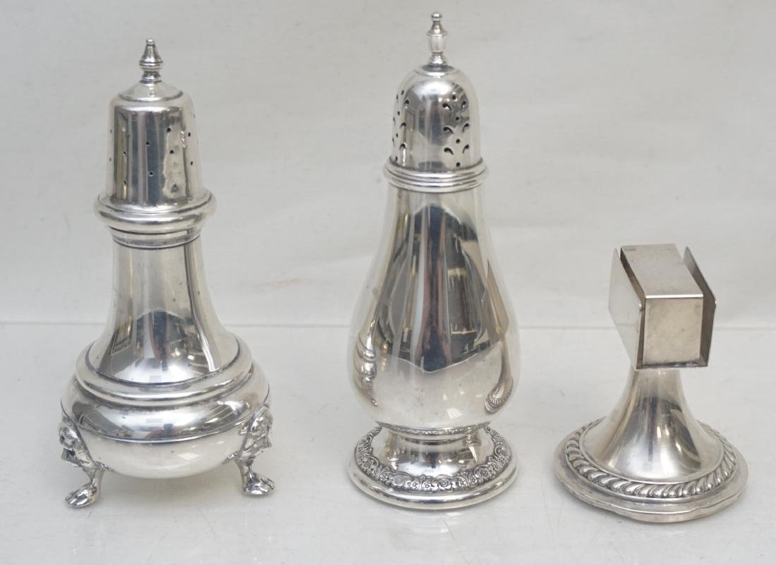 3 pc AMERICAN STERLING SHAKERS & - 7