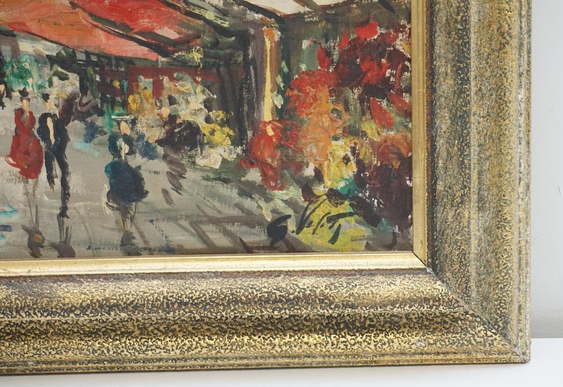 FRENCH SCHOOL FLOWER MARKET OIL - 3