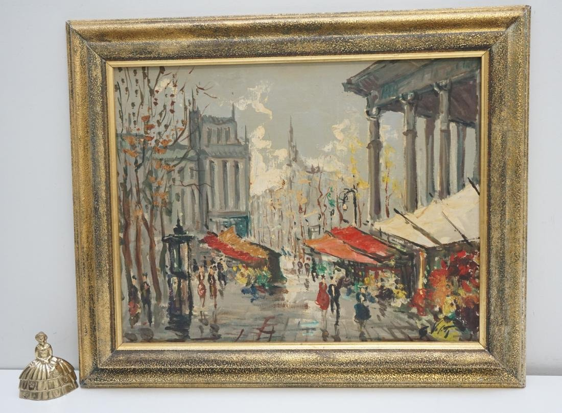 FRENCH SCHOOL FLOWER MARKET OIL - 4