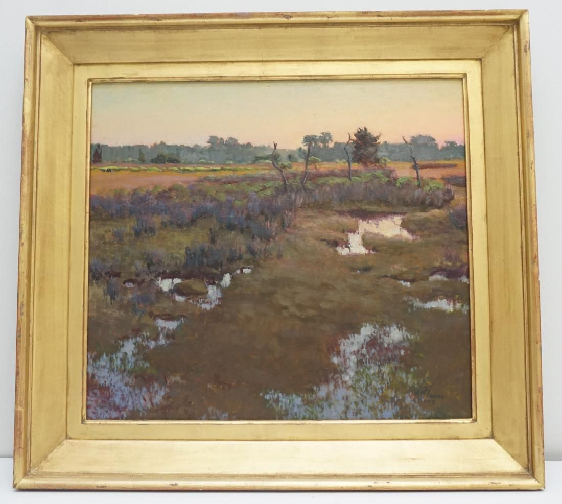 WEST FRASER OIL ON PANEL JOHNS ISLAND