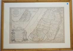 VAUGONDY R de  DELAMARCHE MAP