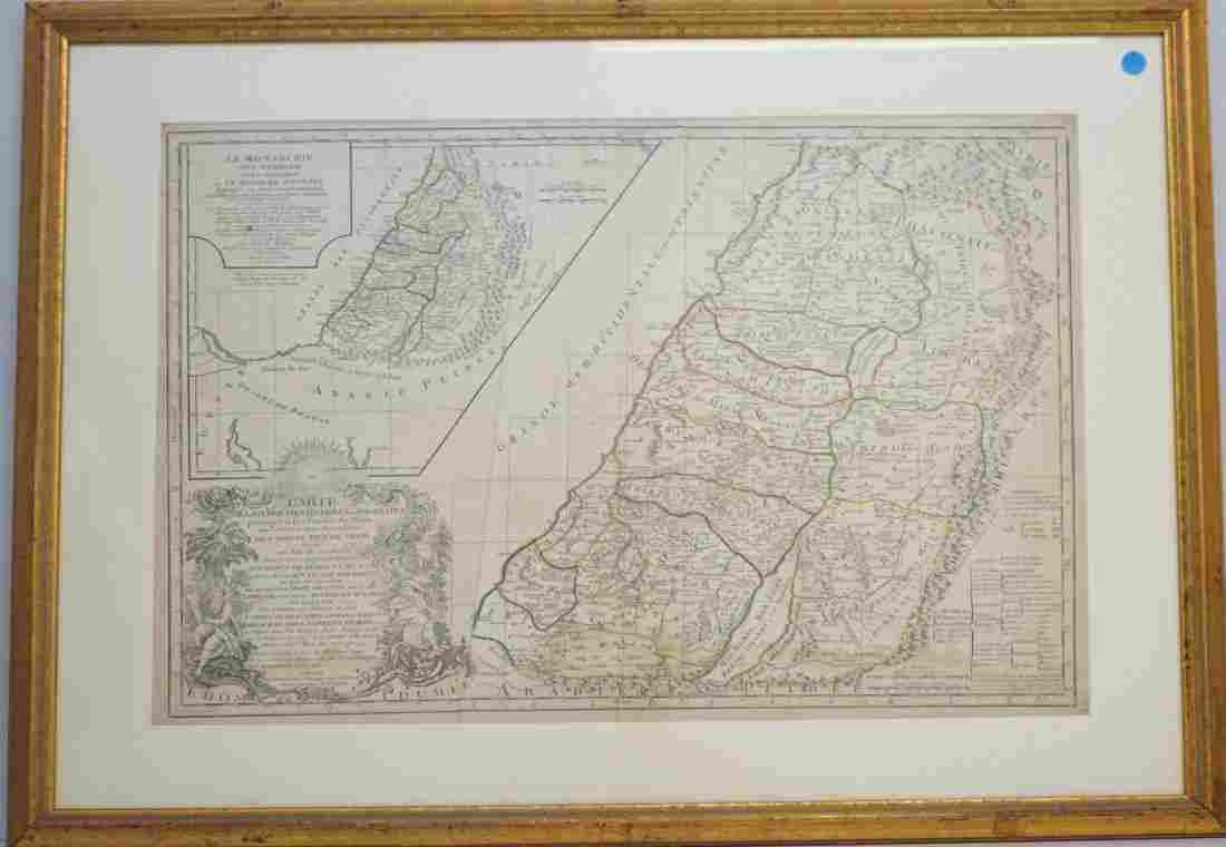 VAUGONDY, R. de / DELAMARCHE MAP