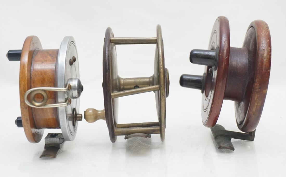 3 ANTIQUE FLY FISHING REELS - 5