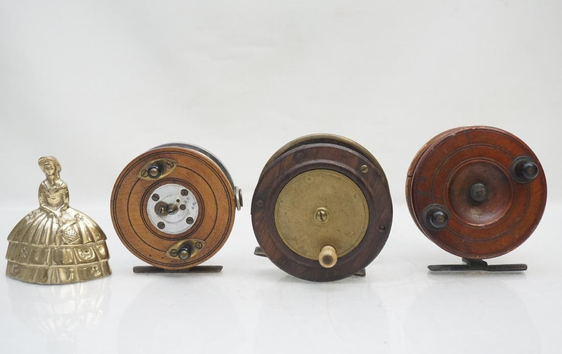 3 ANTIQUE FLY FISHING REELS - 6