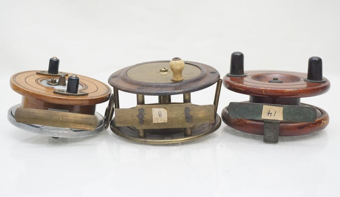 3 ANTIQUE FLY FISHING REELS - 7