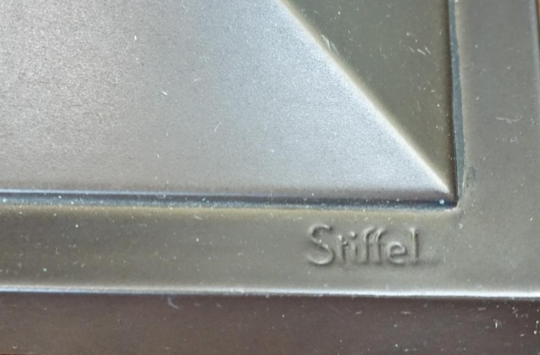 STIFFEL MISSION CRAFTSMAN LAMP - 10