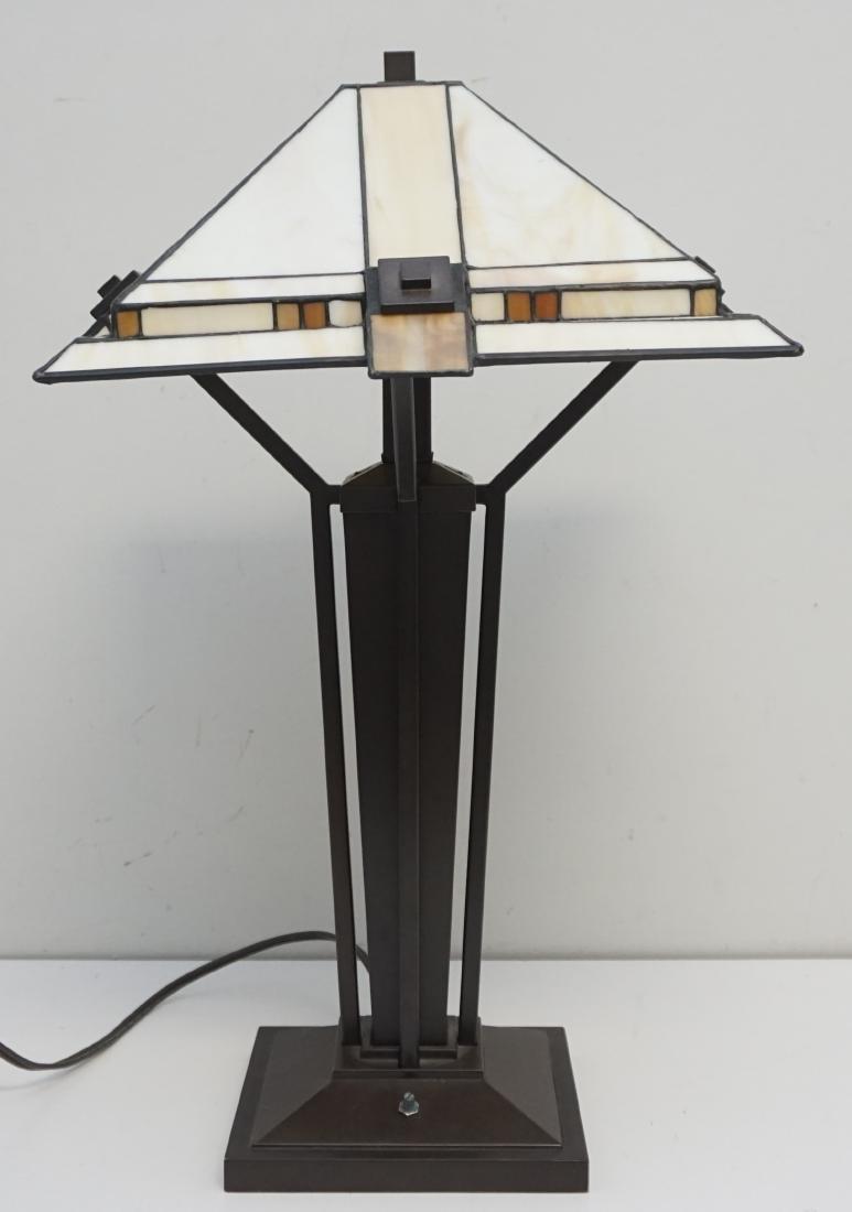 STIFFEL MISSION CRAFTSMAN LAMP