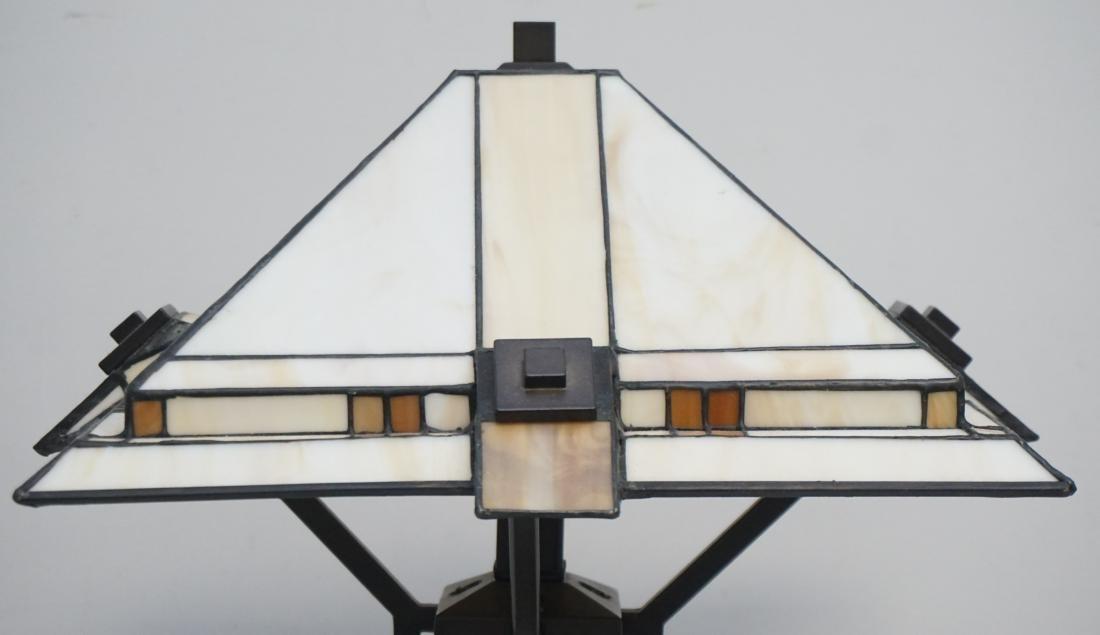 STIFFEL MISSION CRAFTSMAN LAMP - 2