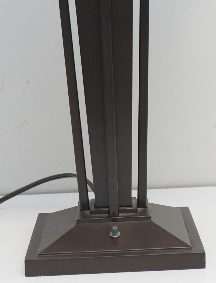 STIFFEL MISSION CRAFTSMAN LAMP - 3