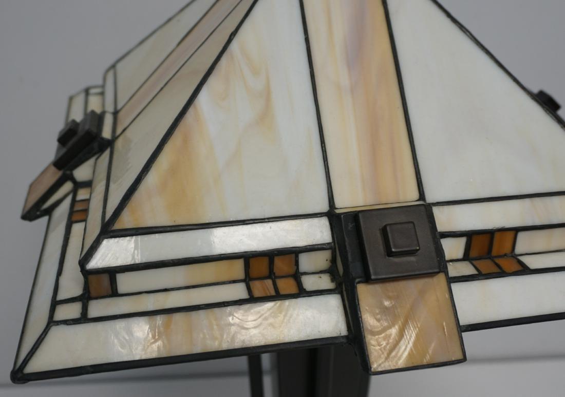 STIFFEL MISSION CRAFTSMAN LAMP - 6