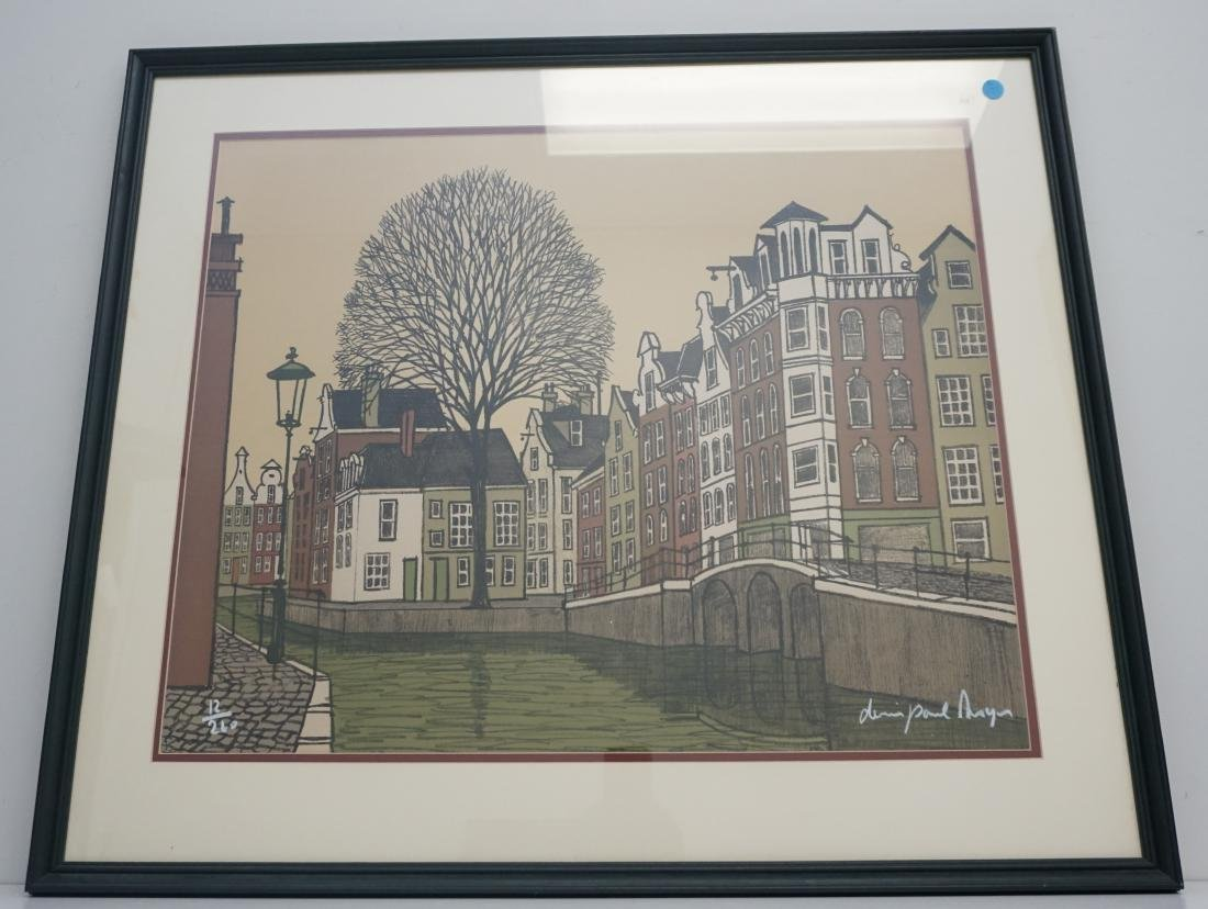DENIS PAUL NOYER VILLA CANDEL LITHO