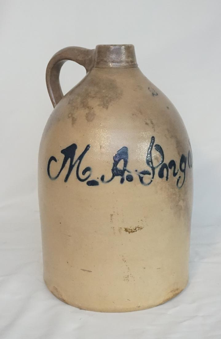 M.A. INGALLS STONEWARE JUG