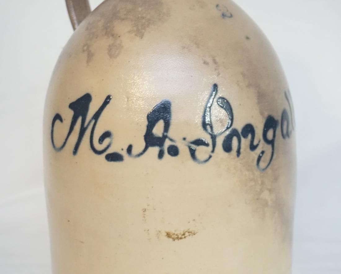 M.A. INGALLS STONEWARE JUG - 2