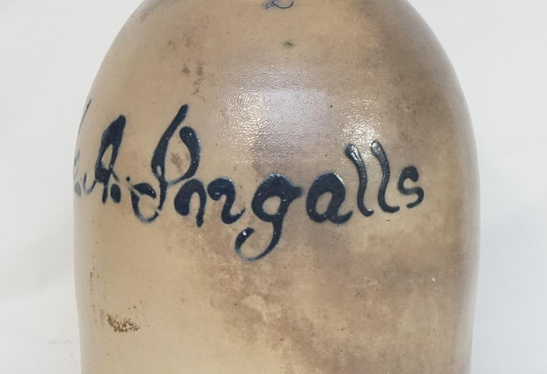 M.A. INGALLS STONEWARE JUG - 4