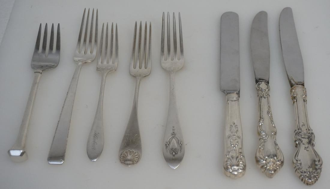 8 pc AMERICAN STERLING FLATWARE