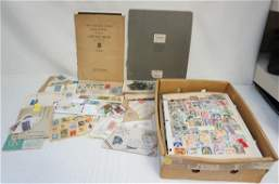 LARGE LOT POSTAGE STAMP COLLECTION
