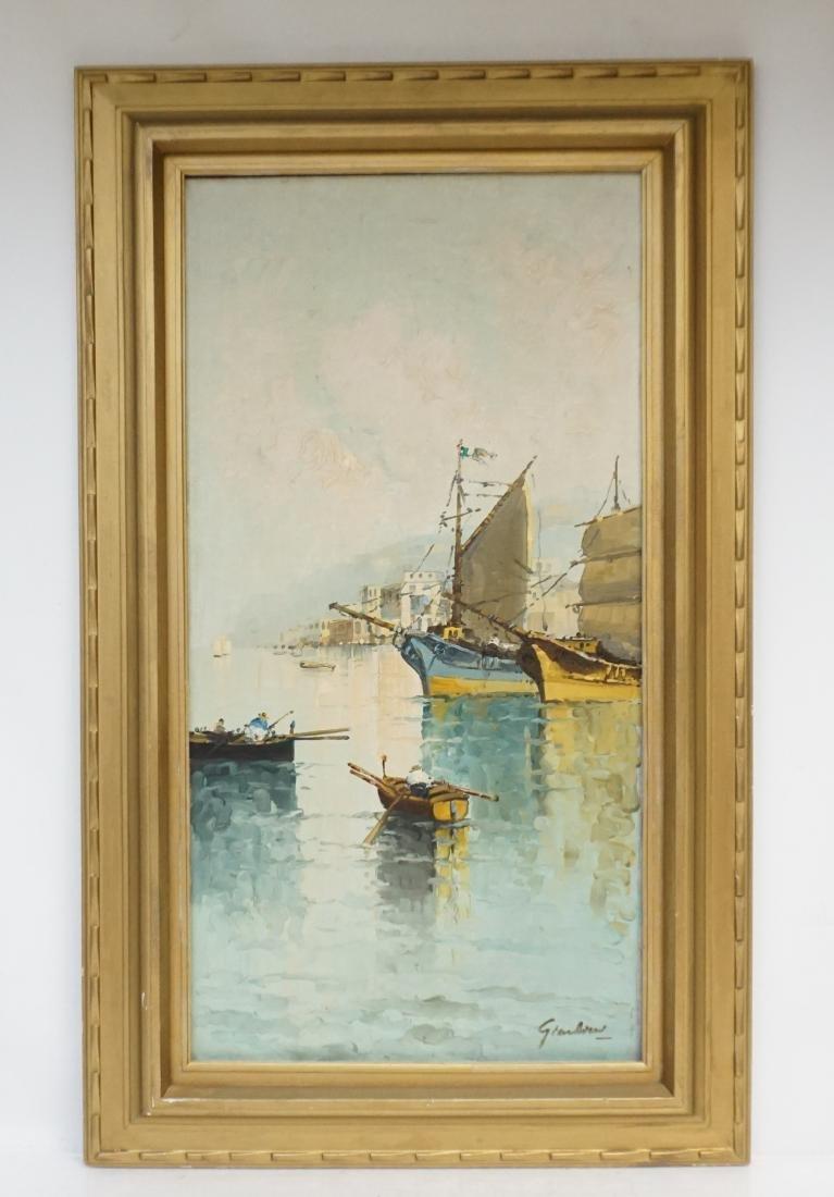 FELICE GIORDANO (1880-1964) CAPRI OIL