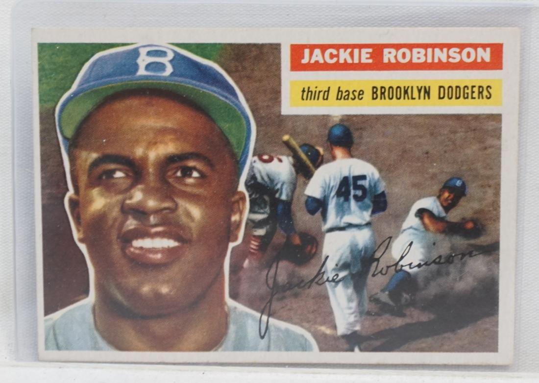 1956 JACKIE ROBINSON TOPPS #30
