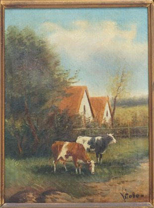 Vintage Oil Paintings for Sale & Antique Oil Paintings