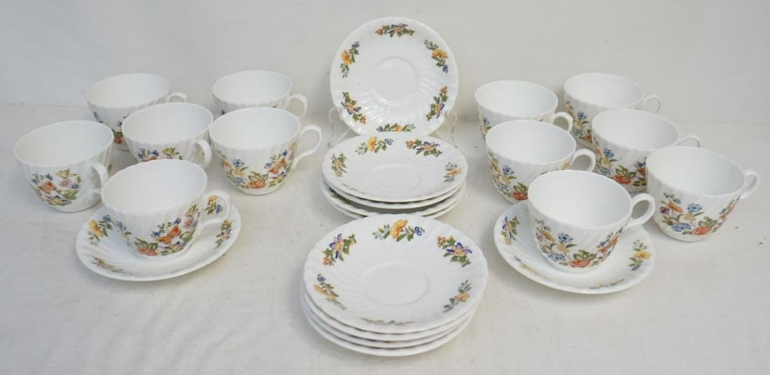 23 pc COTTAGE GARDEN ANSLEY CHINA