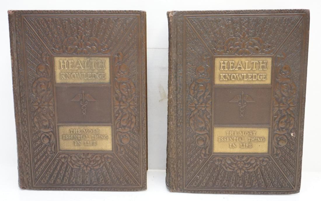 2 1938 HEALTH KNOWLEDGE BOOKS