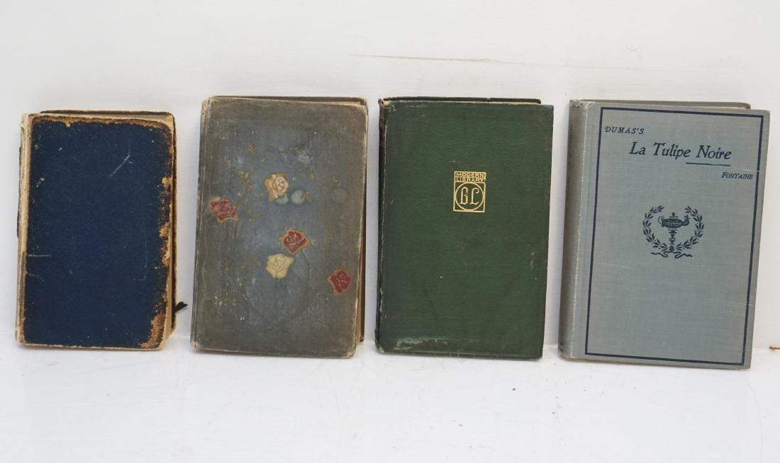 4 ANTIQUE BOOKS DUMAS +