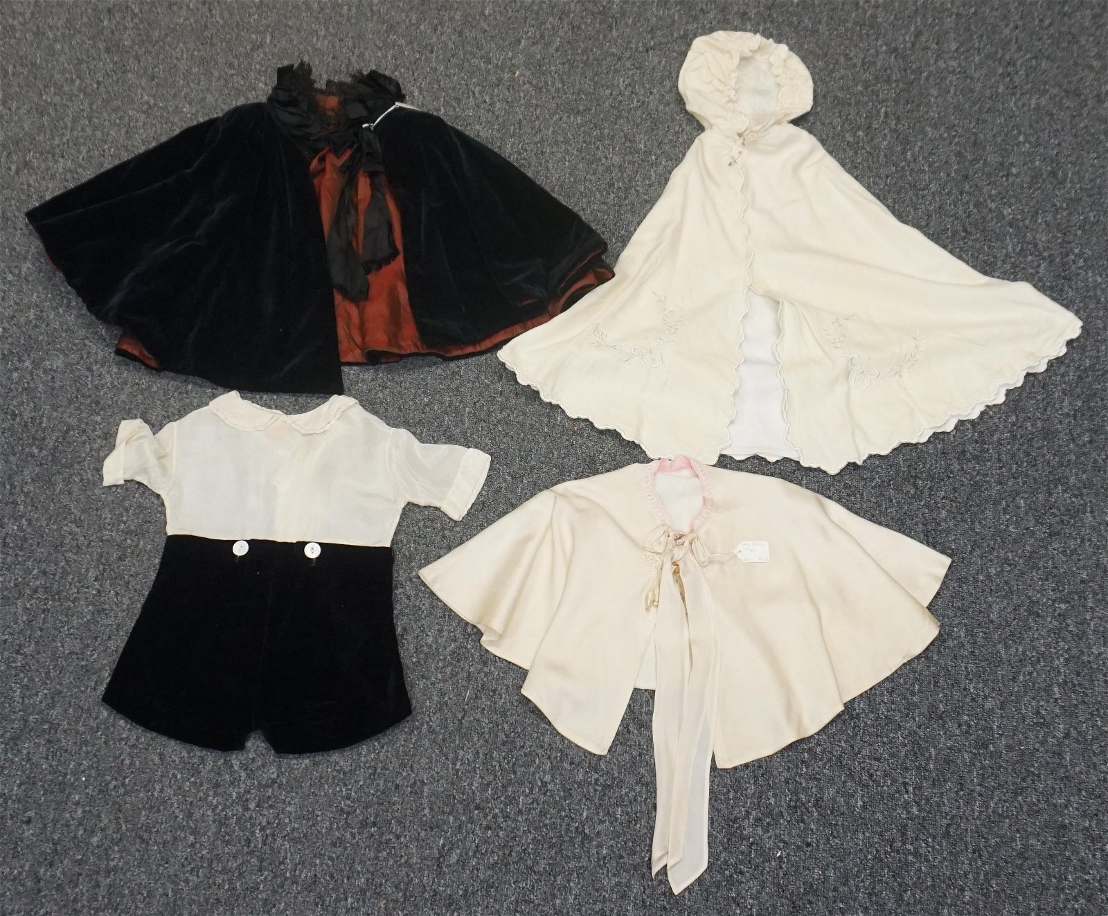 4 VICTORIAN GIRLS & BOYS CLOTHING