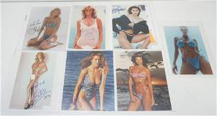 7 TOP MODELS AUTOGRAPHS