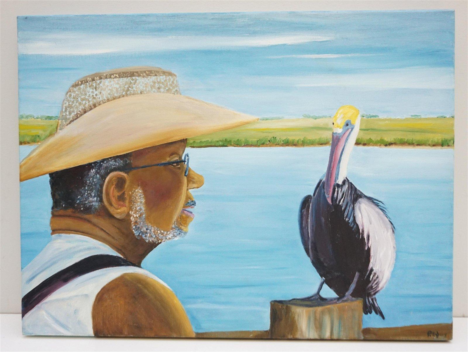 "RICHARD PILLSBURY ""WHOS FISH"" OIL"