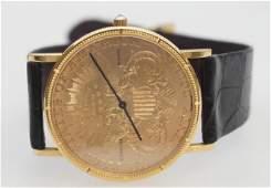 GENTLEMAN'S CORUM $20 LIBERTY COIN
