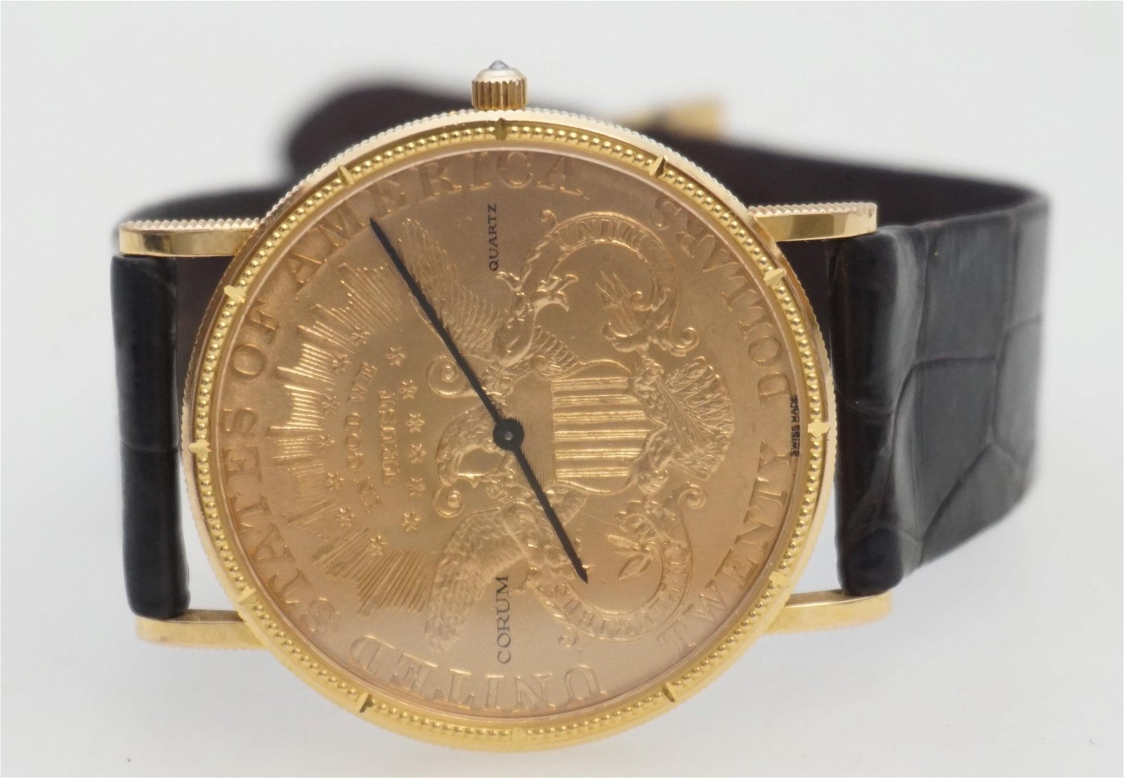 GENTLEMAN'S CORUM $20 LIBERTY COIN