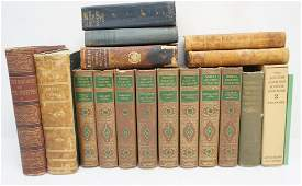 17 ANTIQUE AND VINTAGE BOOKS