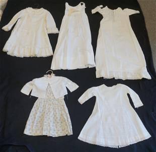 4 pc VICTORIAN GIRLS DRESSES