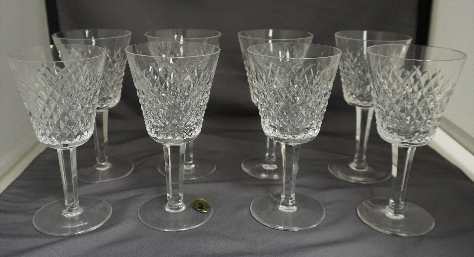 es Waterford Crystal ALANA Claret Wine Glass