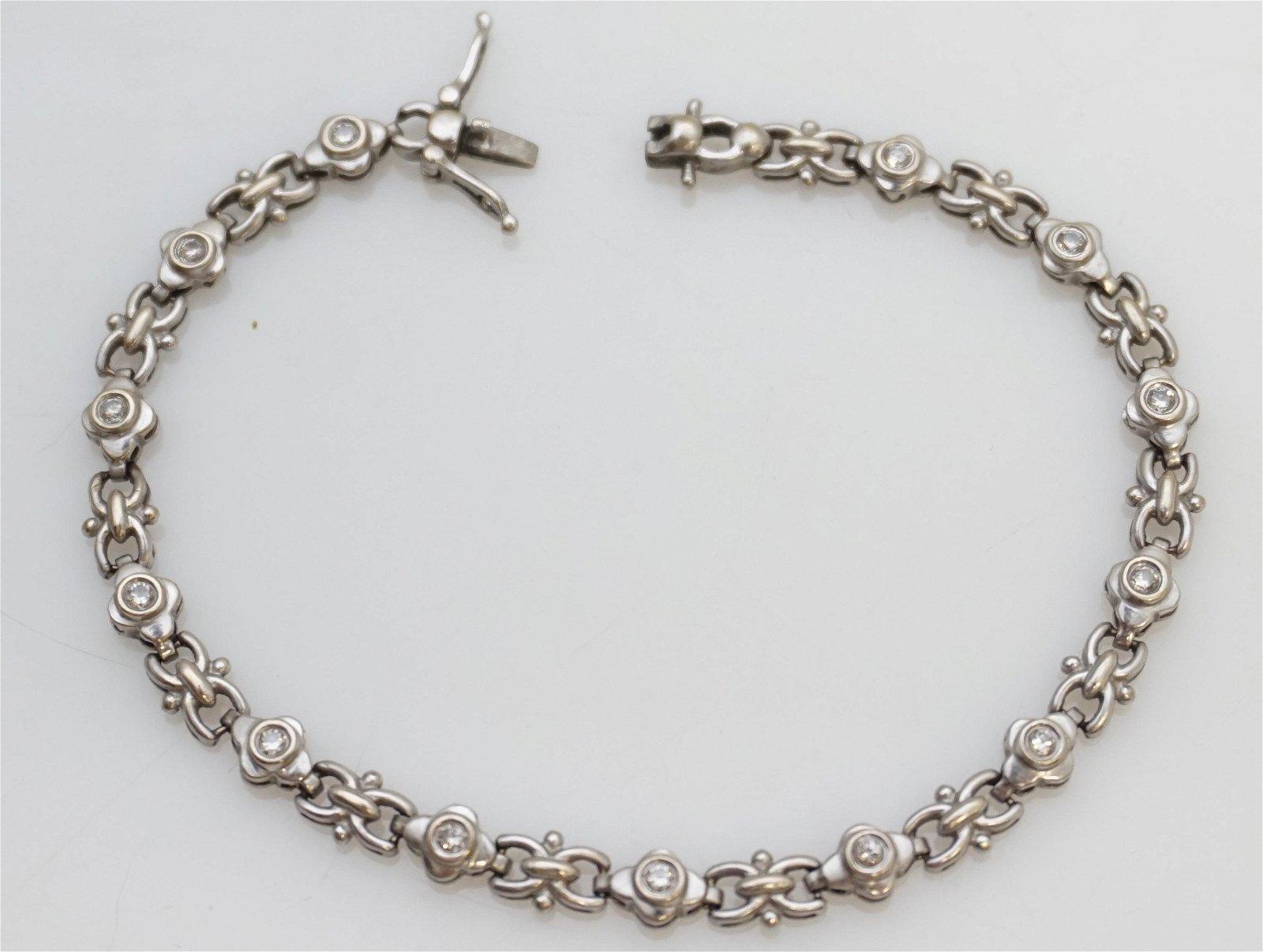 DIAMOND TENNIS BRACELET (7.50 GRAMS)